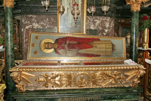 Мощі святої великомучениці Варвари